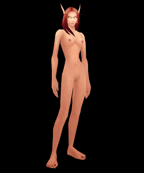 Wow Blood Elf Naked
