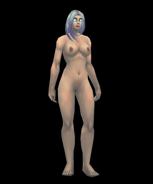 Naked females clothed males