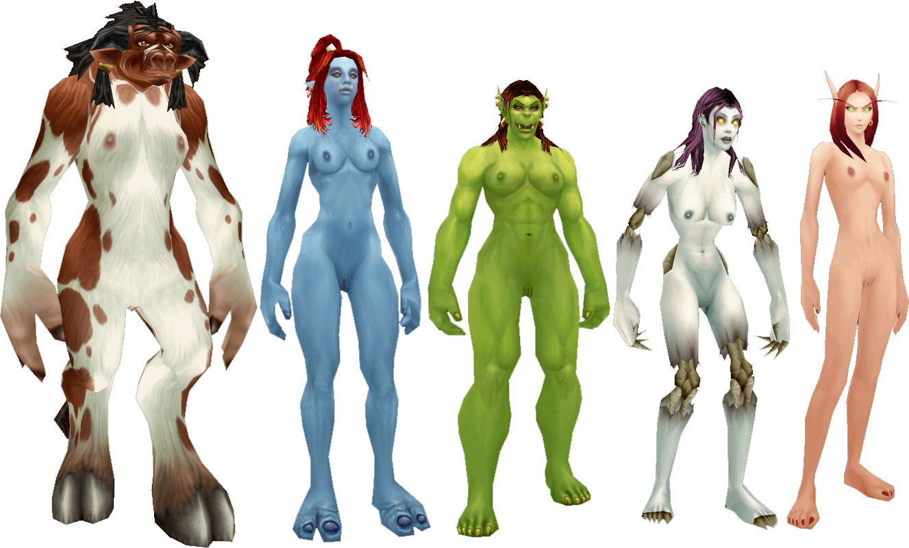 How to make WoW characters naked fucking doll