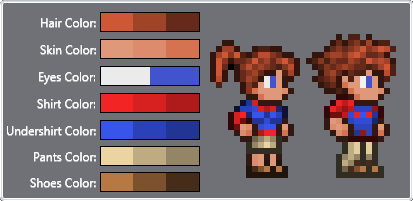 Slim Player & Female NPC Texture packs | Terraria Community Forums