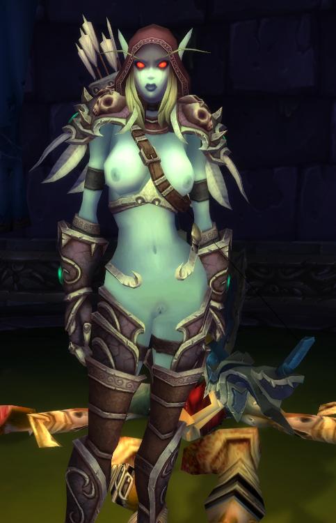 sylvanas World of naked warcraft